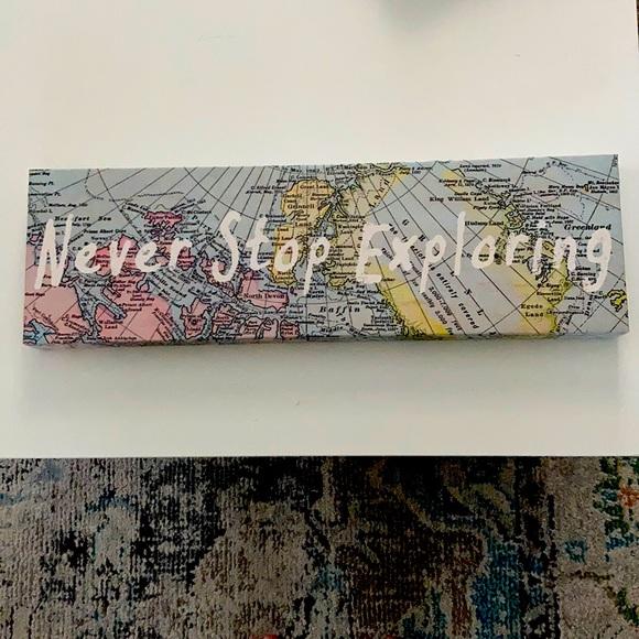 """Never Stop Exploring"" Canvas Print"